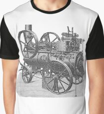 Ancient steam machine #steampunk #steampunkstyle #steampunkfashion #steampunkclothing #Cyberpunk #Dieselpunk #Fantasy #ScienceFiction #Ancientsteammachine #Ancient #steam #machine #steammachine Graphic T-Shirt