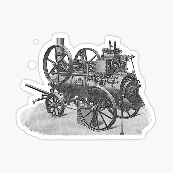 Ancient steam machine #steampunk #steampunkstyle #steampunkfashion #steampunkclothing #Cyberpunk #Dieselpunk #Fantasy #ScienceFiction #Ancientsteammachine #Ancient #steam #machine #steammachine Sticker