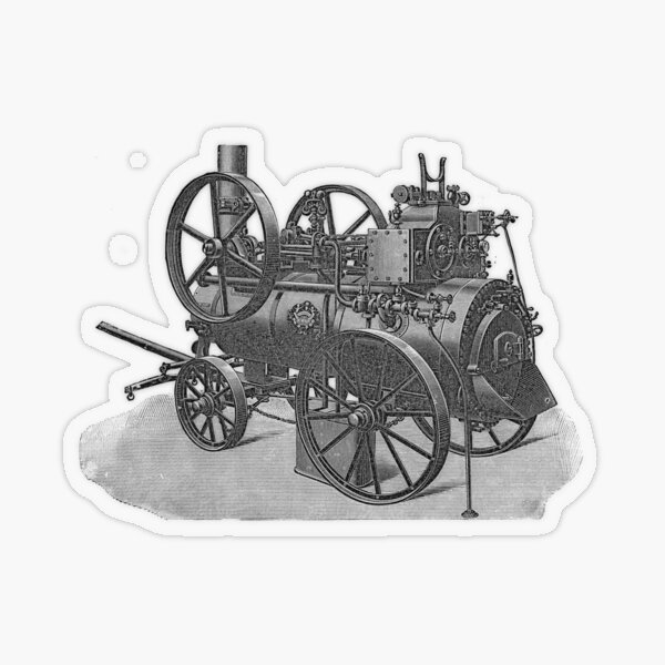 Ancient steam machine #steampunk #steampunkstyle #steampunkfashion #steampunkclothing #Cyberpunk #Dieselpunk #Fantasy #ScienceFiction #Ancientsteammachine #Ancient #steam #machine #steammachine Transparent Sticker