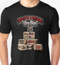 "Inside & Outside ""The Box"" Unisex T-Shirt"