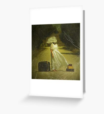Which way ought I to go? Greeting Card