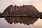 Cradle Mountain Tarn Sunset, Australia by Michael Boniwell