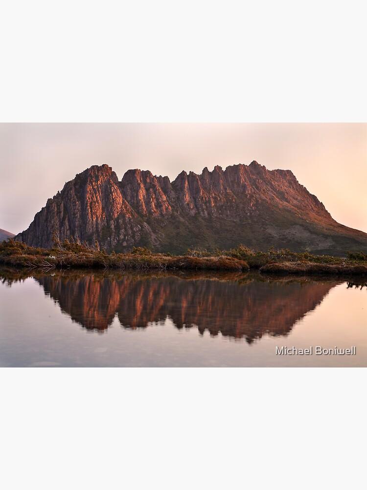 Cradle Mountain Tarn Sunset, Australia by Chockstone