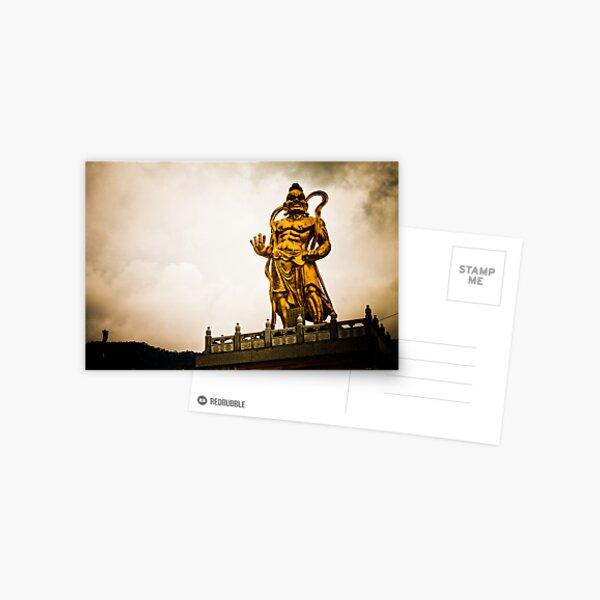 Kek Lok Statue Golden God Postcard