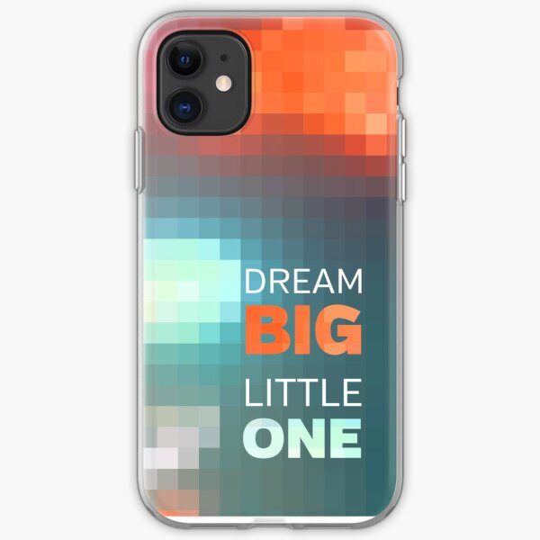 Dream Big Little One Mosaic Stained Glass iPhone Soft Case