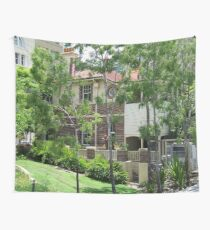 The bright side of a city Wall Tapestry