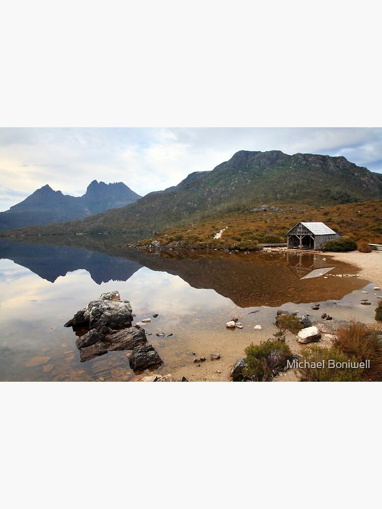 Boat Shed, Dove Lake, Cradle Mountain Nat. Park, Australia by Chockstone