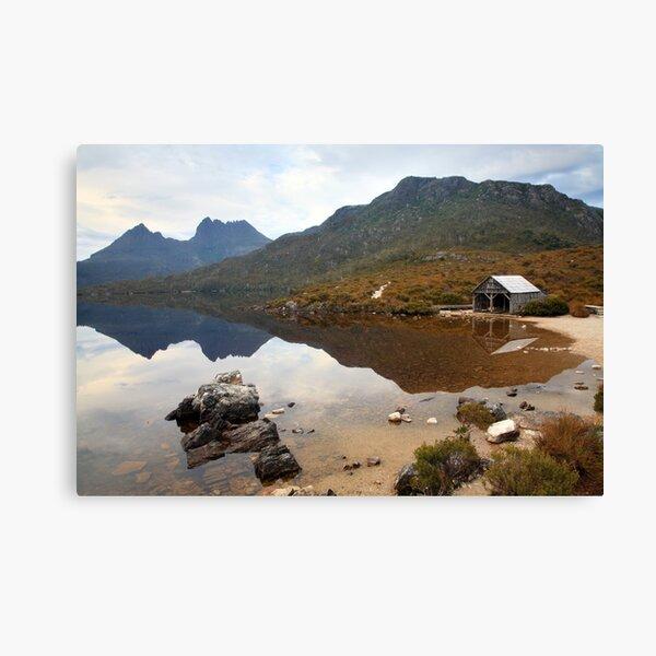 Boat Shed, Dove Lake, Cradle Mountain Nat. Park, Australia Canvas Print