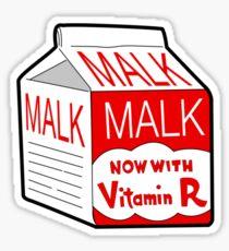 But I Always Drink Plenty of... Malk? Sticker