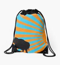 Elephant Sunshine (Good Luck Elephant) Drawstring Bag