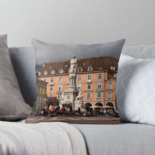 Piazza Walther Throw Pillow