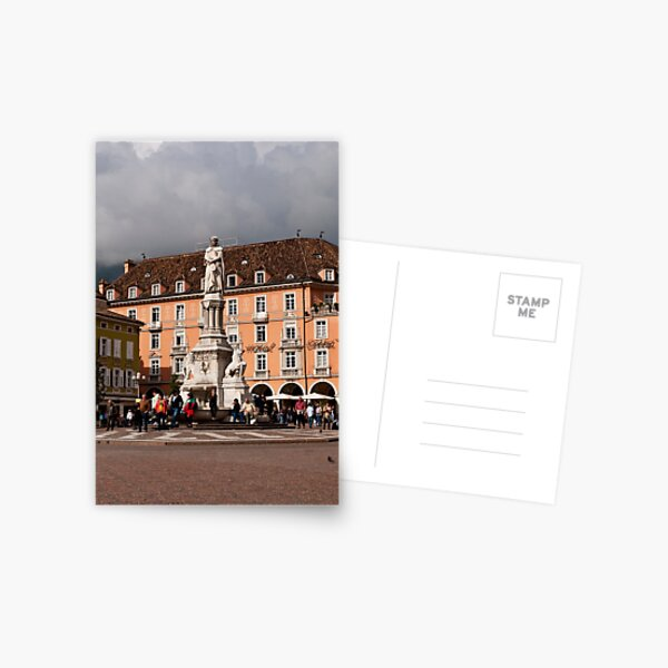 Piazza Walther Postcard