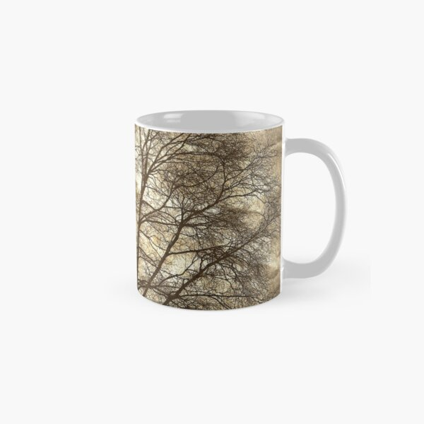 Birch Tree Silhouette Classic Mug