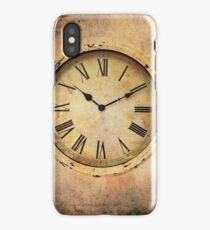 Vintage Clock iPhone Case/Skin