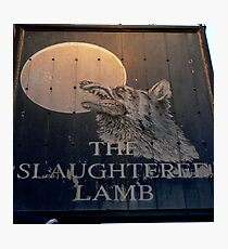The Slaughtered Lamb Photographic Print