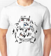 minato, kakashi itachi obito naruto eyes Unisex T-Shirt
