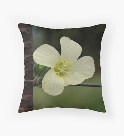 CONTRASTS IN SPRING - WILD FLOWERS Throw Pillow