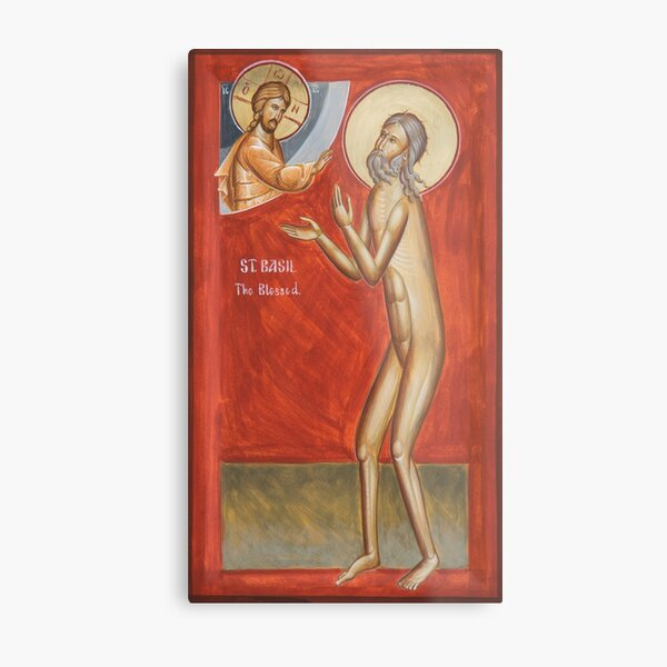 St Basil the Blessed Metal Print