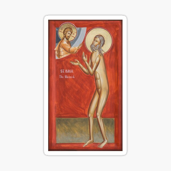 St Basil the Blessed Sticker