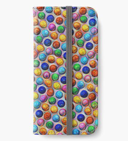 Color Dots #DeepDream iPhone Wallet
