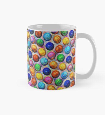 Color Dots #DeepDream Mug
