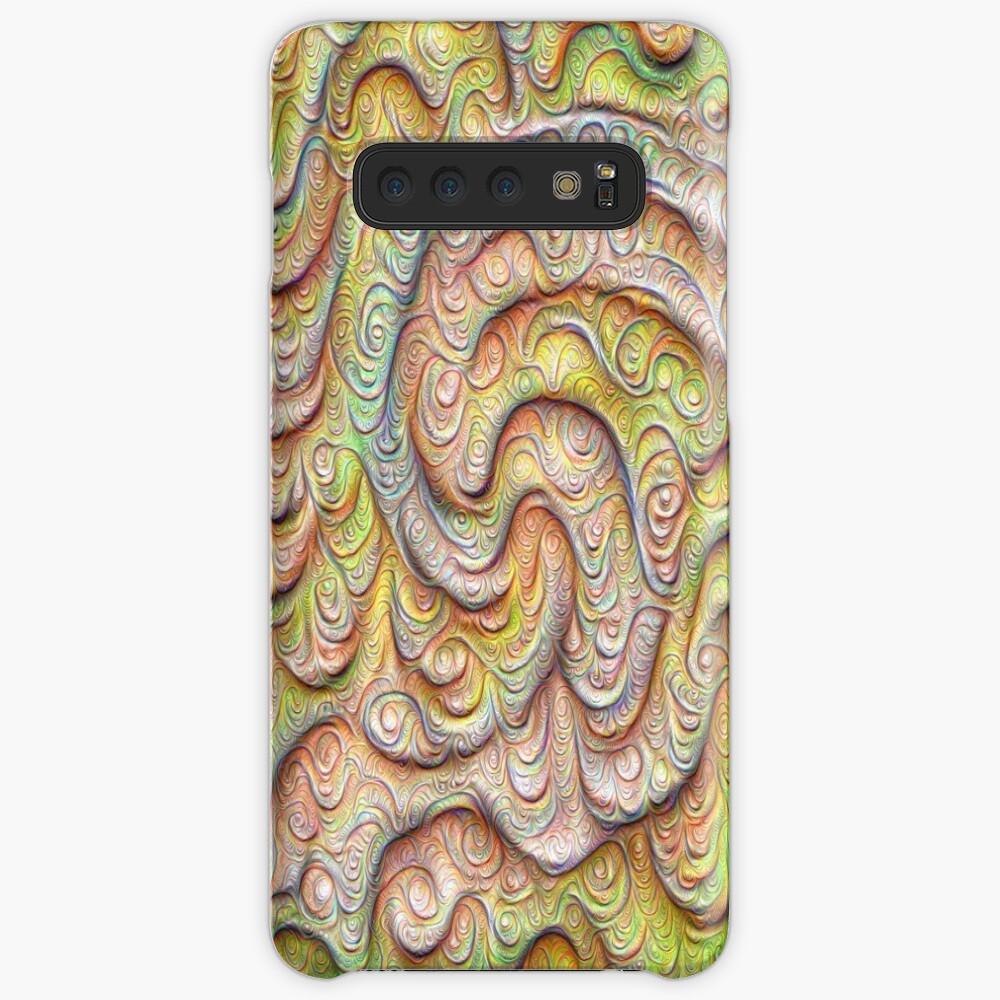 Frozen spring wave #DeepDream #Art | Sasalusais pavasara vilnis Case & Skin for Samsung Galaxy