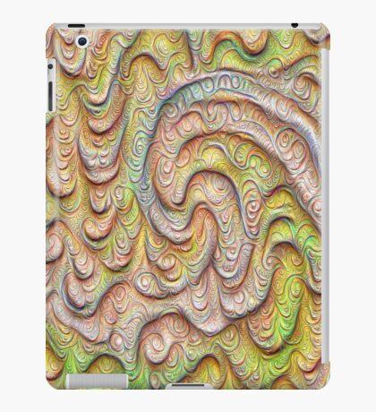 Frozen spring wave #DeepDream #Art   Sasalusais pavasara vilnis iPad Case/Skin