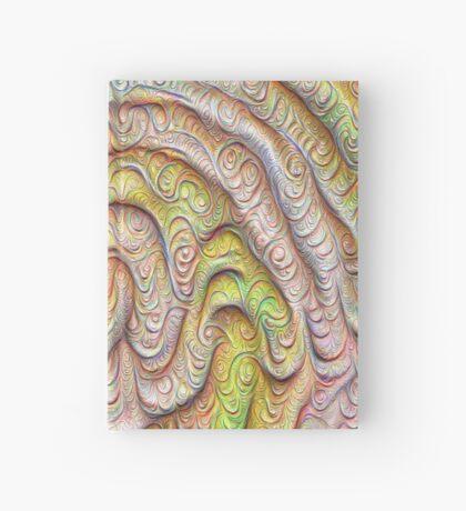Frozen spring wave #DeepDream #Art | Sasalusais pavasara vilnis Hardcover Journal