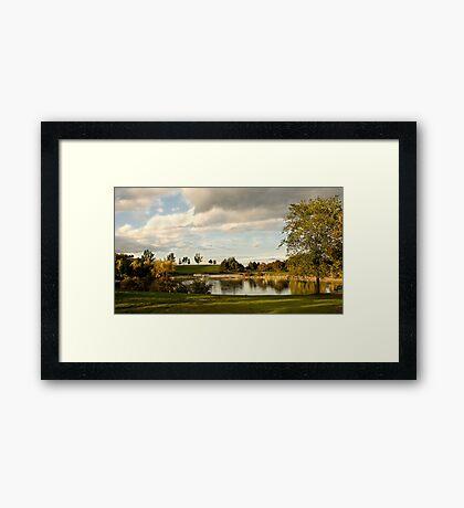 Chinguacousy Pond Framed Print