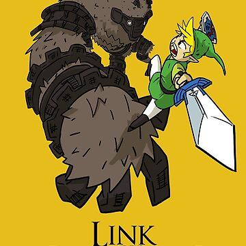Link y el Coloso de DibujarBien