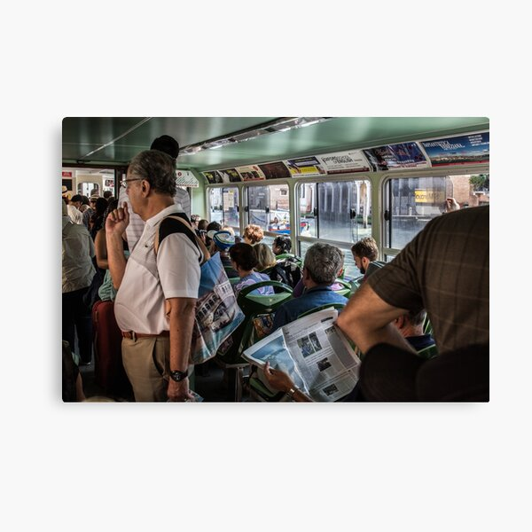 Water Bus Canvas Print