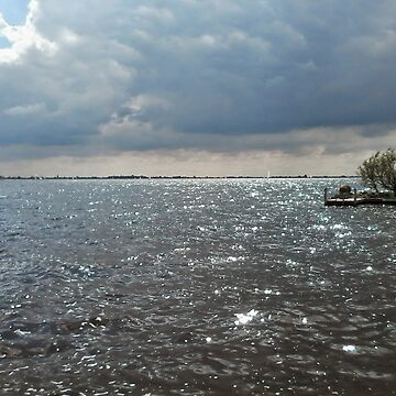 Sun & Clouds over the Water by hajarsdeco