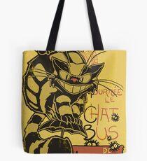 Nekobus, le Chat Noir cartel Bolsa de tela