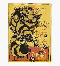 Nekobus, le Chat Noir cartel Lámina fotográfica