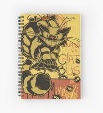 Nekobus, le Chat Noir cartel Cuaderno de espiral