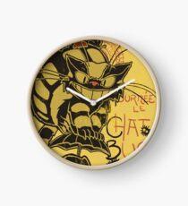 Nekobus, le Chat Noir cartel Reloj