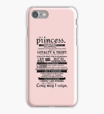 I Am a Princess iPhone Case/Skin