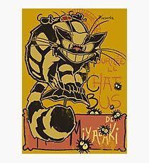 Nekobus, le Chat Noir Lámina fotográfica
