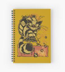Nekobus, le Chat Noir Cuaderno de espiral