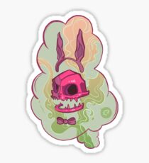 Bubblegum demon spirit Sticker