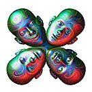 #DeepDream Masks - Heads 5x5K v1455792443 by blackhalt