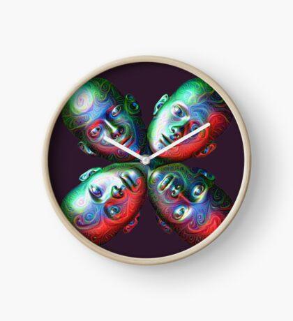 #DeepDream Masks - Heads 5x5K v1455792443 Clock