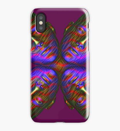 #DeepDream Masks - Heads - Butterfly 5x5K v1455803831 iPhone Case