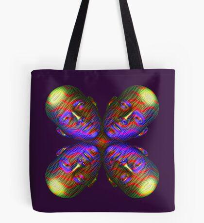 #DeepDream Masks - Heads - Butterfly 5x5K v1455803831 Tote Bag