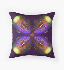 #DeepDream Masks - Heads - Butterfly 5x5K v1455803831 Floor Pillow