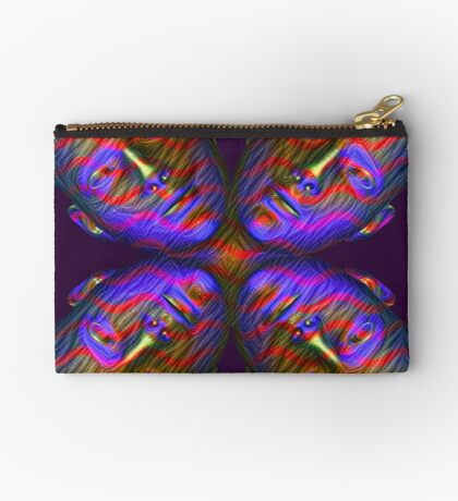 #DeepDream Masks - Heads - Butterfly 5x5K v1455803831 Studio Pouch