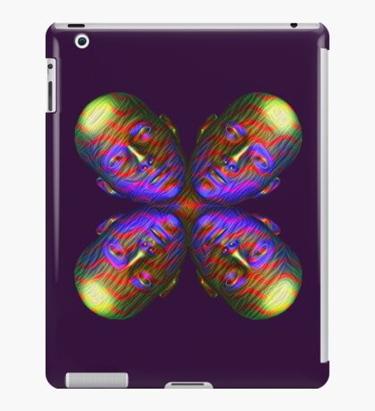 #DeepDream Masks - Heads - Butterfly 5x5K v1455803831 iPad Case/Skin