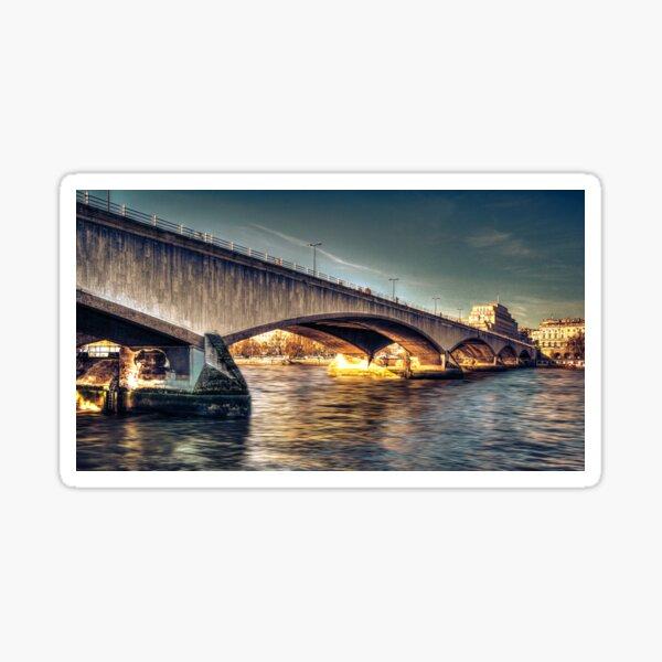 Silver Thames Sticker