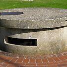 Retractable Pillbox, 1940 by wiggyofipswich