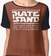 For sand haters (white) Chiffon Top